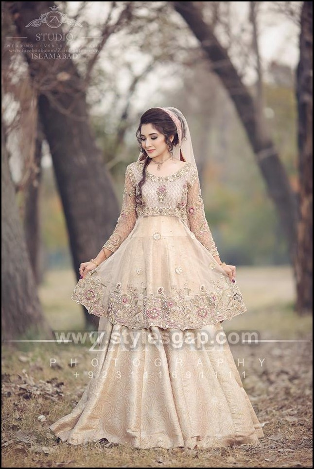 Latest Walima Dresses Designs Trends Collection 2020 2021,Wedding Guest Simple Rose Gold Casual Dress