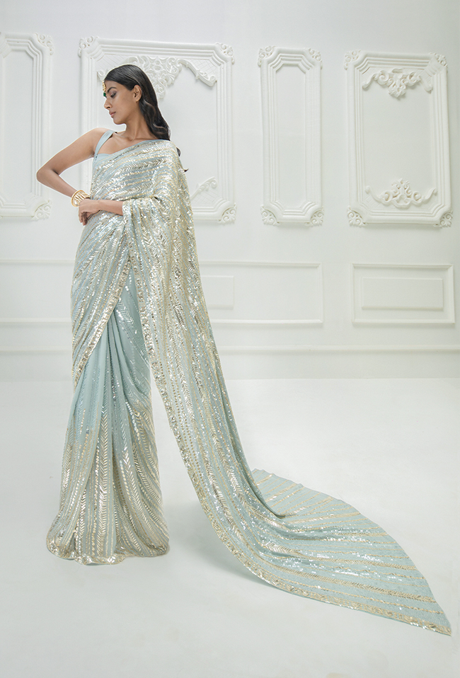 latest Indian Sarees Manish Mahlotra designer sarees