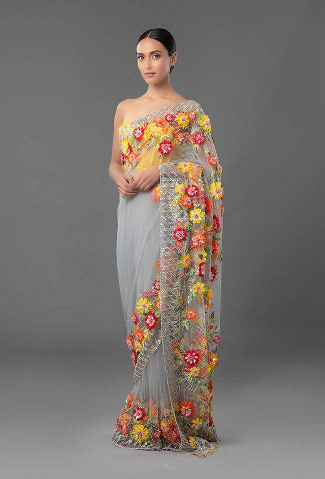 Indian Manish Malhotra Latest Designer Saree Collection