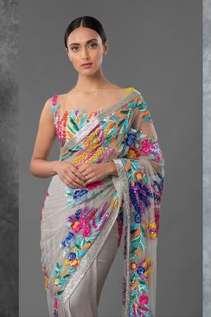 Manish Malhotra Latest Designer Saree Collection