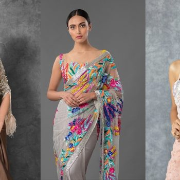 Manish Malhotra Latest Designer Saree Collection 2021-2022 Designs