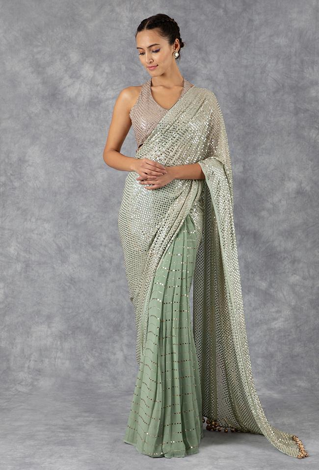 Manish Malhotra Latest Designer Saree Collection (43) - StylesGap.com