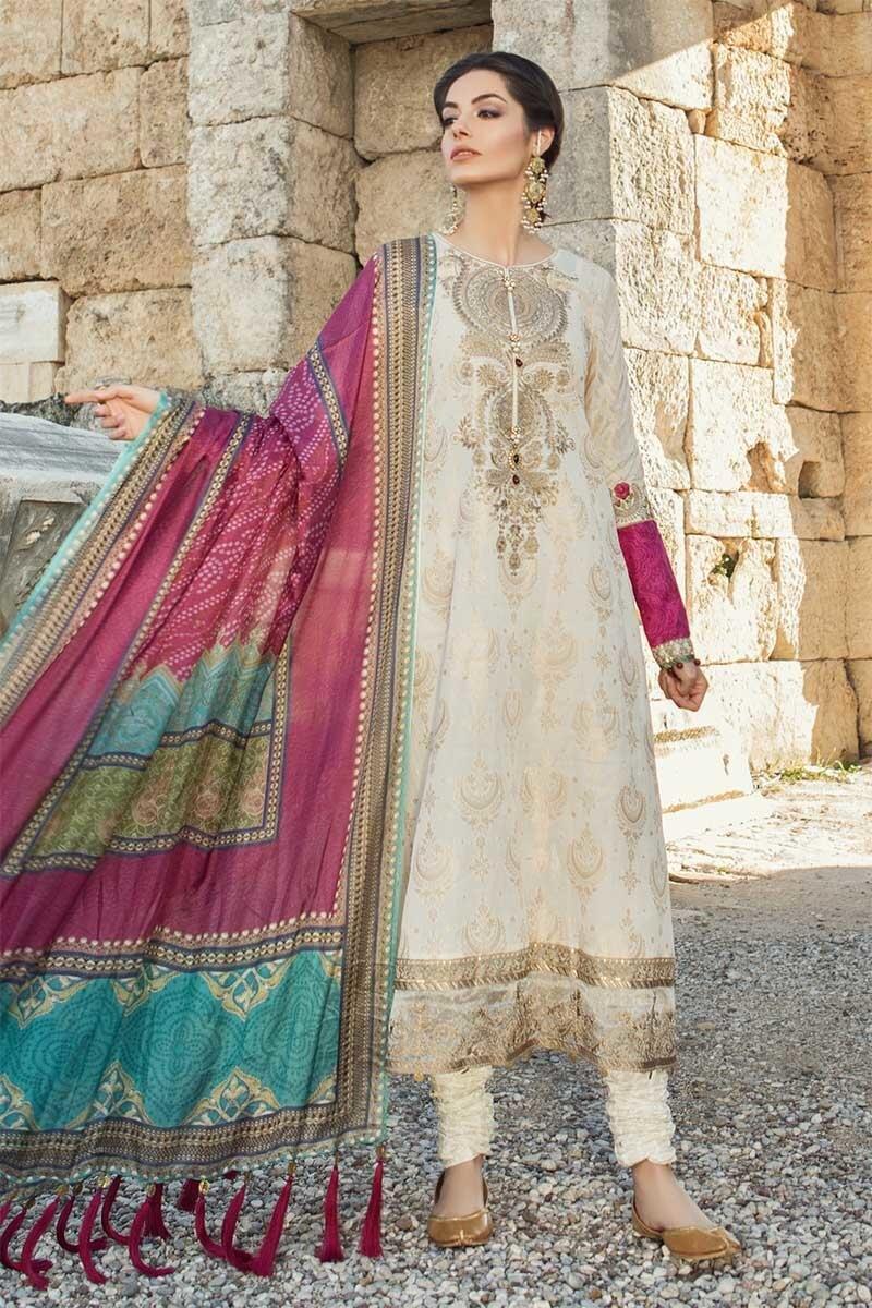 f3a18b2c1e Maria B Lawn Collection 2019 Best Pakistani Designer Summer Dresses