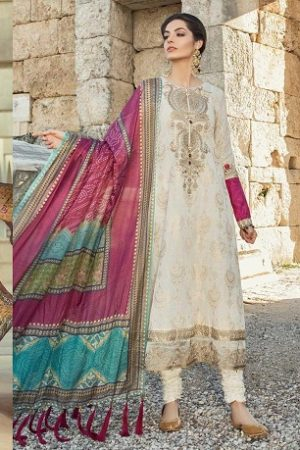 Maria B Lawn Collection 2019 Best Pakistani Designer Summer Dresses