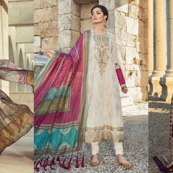Maria B Lawn Collection 2019 Best Pakistani Designer Summer Dresses