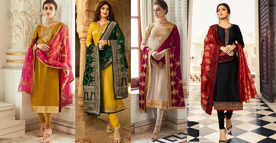 New Indian Churidar Suits Latest Designs Collection