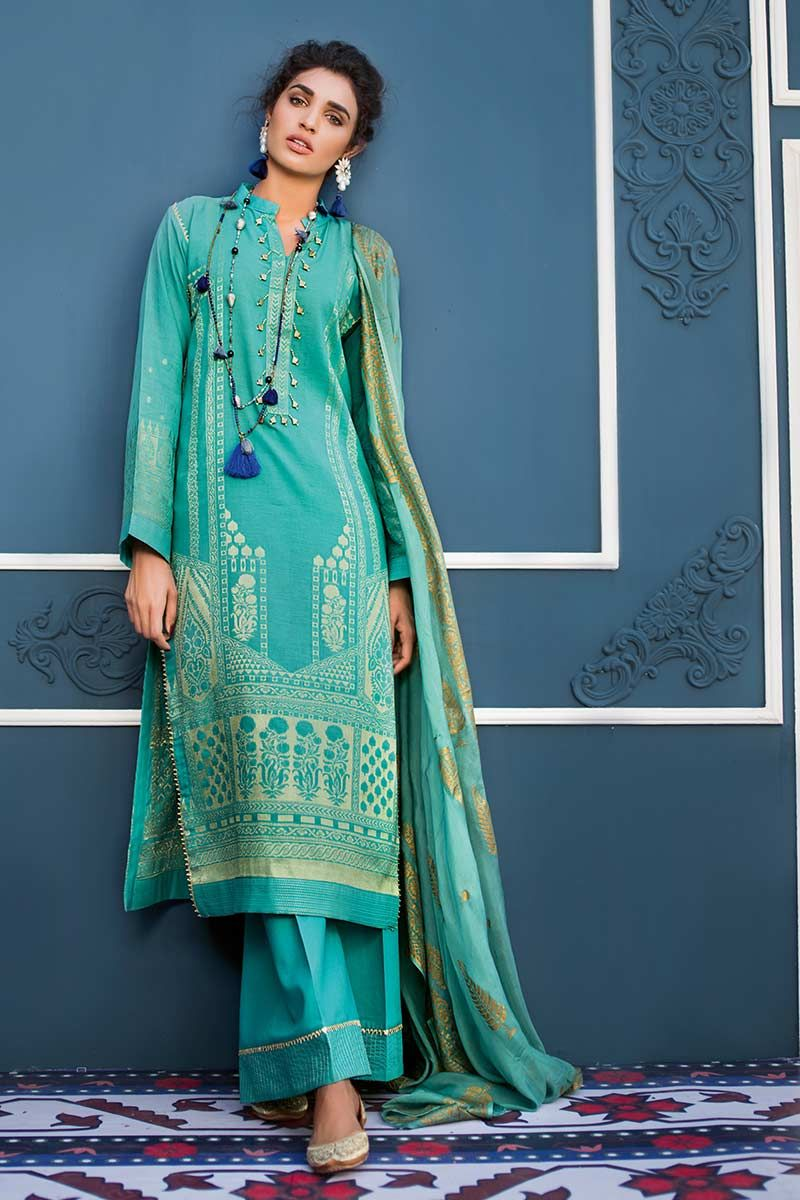 Gul Ahmed Summer Embroidered Lawn Dresses Collection 2019 2020
