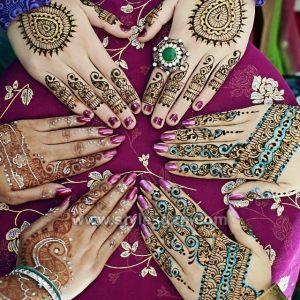 Stylish Eid Glitter Mehndi Designs (12)