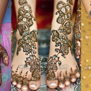 Stylish Glitter Mehndi Designs Trends 2020-21 Collection