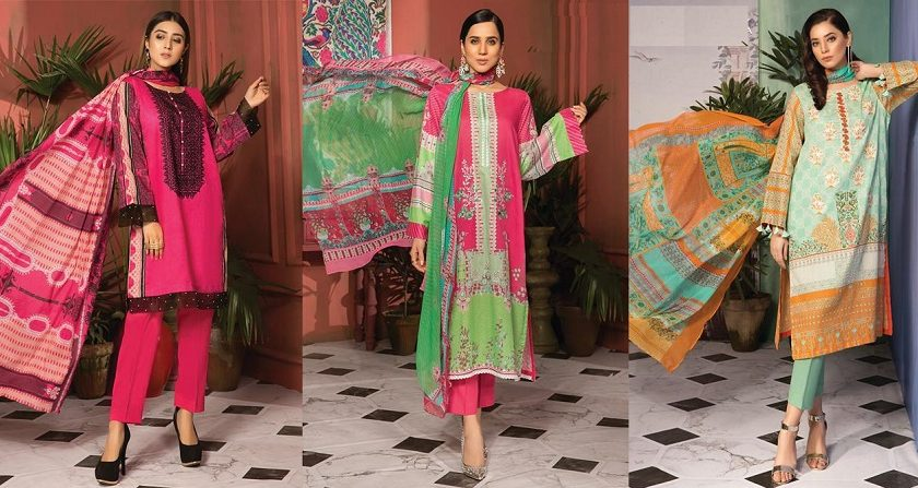 WARDA LATEST PRINTED LAWN DRESSES Collection 2019-2020