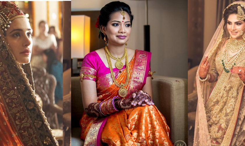 Different Cultures Indian Traditional Bridal Dresses Trends 2018-2019