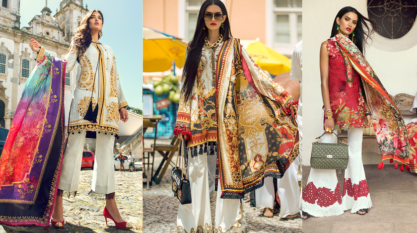 Elan Lawn Spring Summer Collection 2018- Luxury Designer Lawn Suits