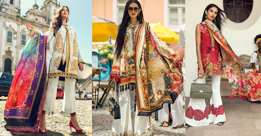 04c54dc0ee Elan Lawn Spring Summer Collection 2018- Luxury Designer Lawn Suits