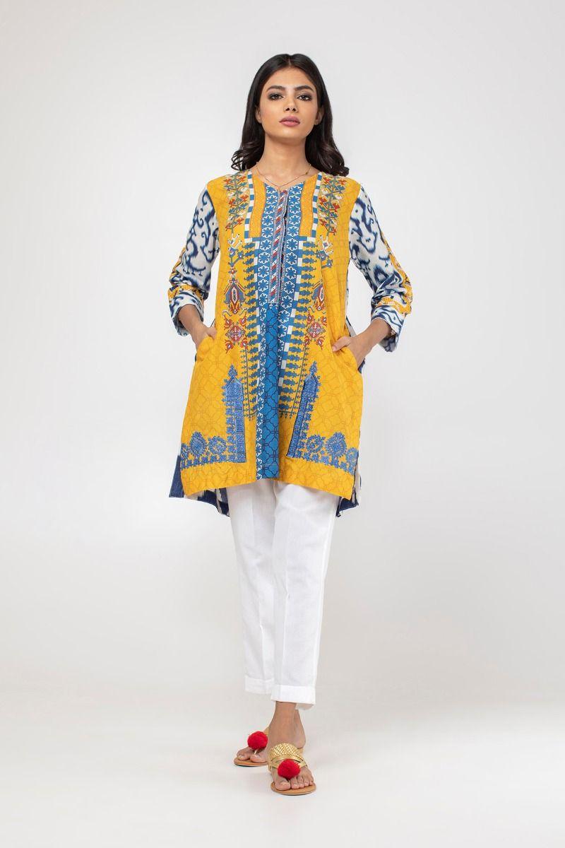 2326fe4644 Khaadi Stylish Summer Kurtas & Dresses Ready to Wear Pret Collection 2019-20