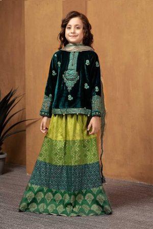 Maria B Fancy Kids Dresses Designs for Girls