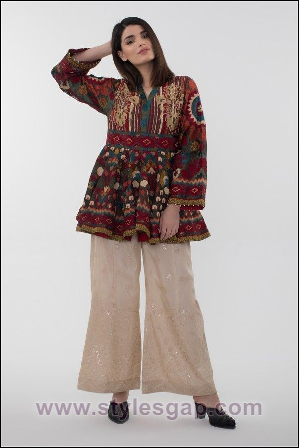 Short Shirt Design 2018: Latest Ladies Medium Shirts Designs 6 Styles Collection 2019-2020rh:stylesgap.com,Design