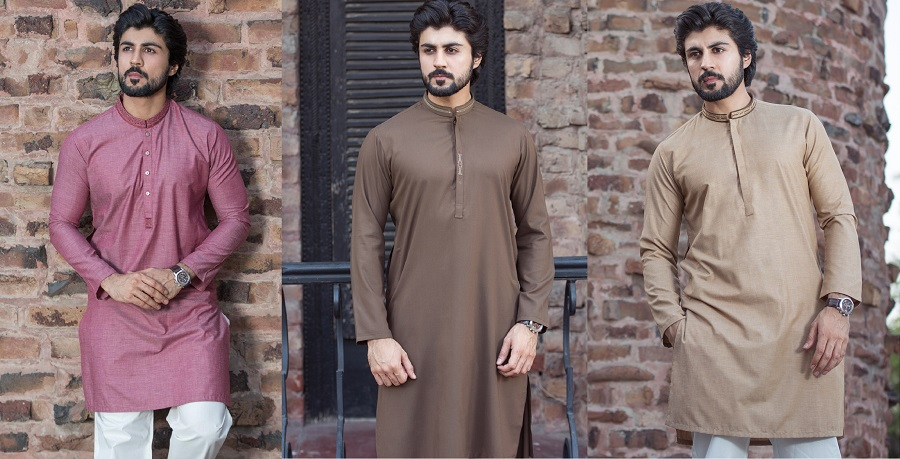 Latest Men Summer Kurta Shalwar Designs Collection 2018-2019