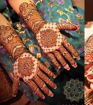 27 Beautiful Latest Bridal Mehndi Designs Collection 2018-2019