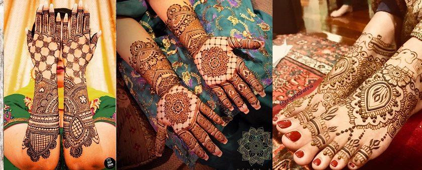 27 Beautiful Latest Bridal Mehndi Designs Collection 2018-2019