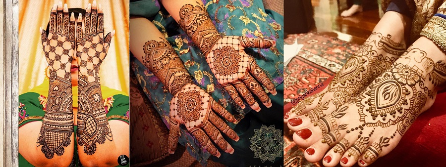 27 Beautiful Latest Bridal Mehndi Designs Collection 2020