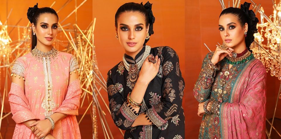 Alkaram Summer Eid Festival Dresses Collection