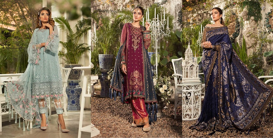 377991e52a Best Eid Women Dresses Maria B Mbroidered Eid Collection 2019-2020