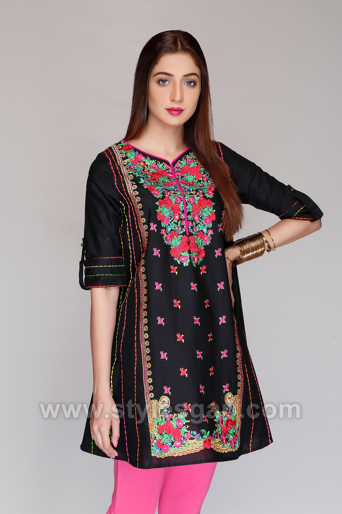 6acdf1c96016 12 Must Have Simple Stylish Eid Dresses Trends 2018-2019 to Follow