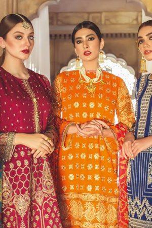 Khaadi Lawn Chiffon Eid Dresses Designs Collection 2019-2020 (3)