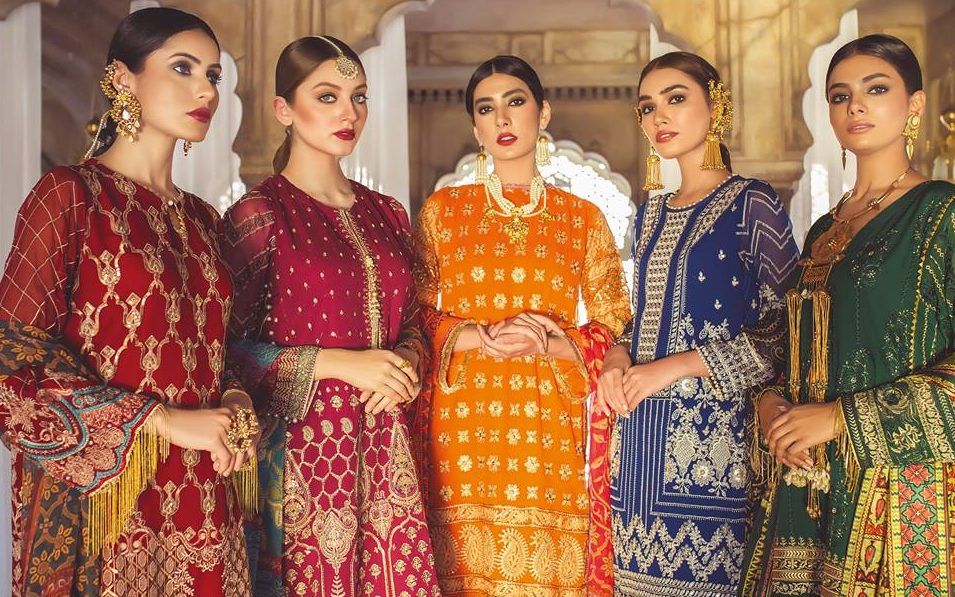 Khaadi Lawn Chiffon Eid Dresses Designs Collection 2019-2020 (3)