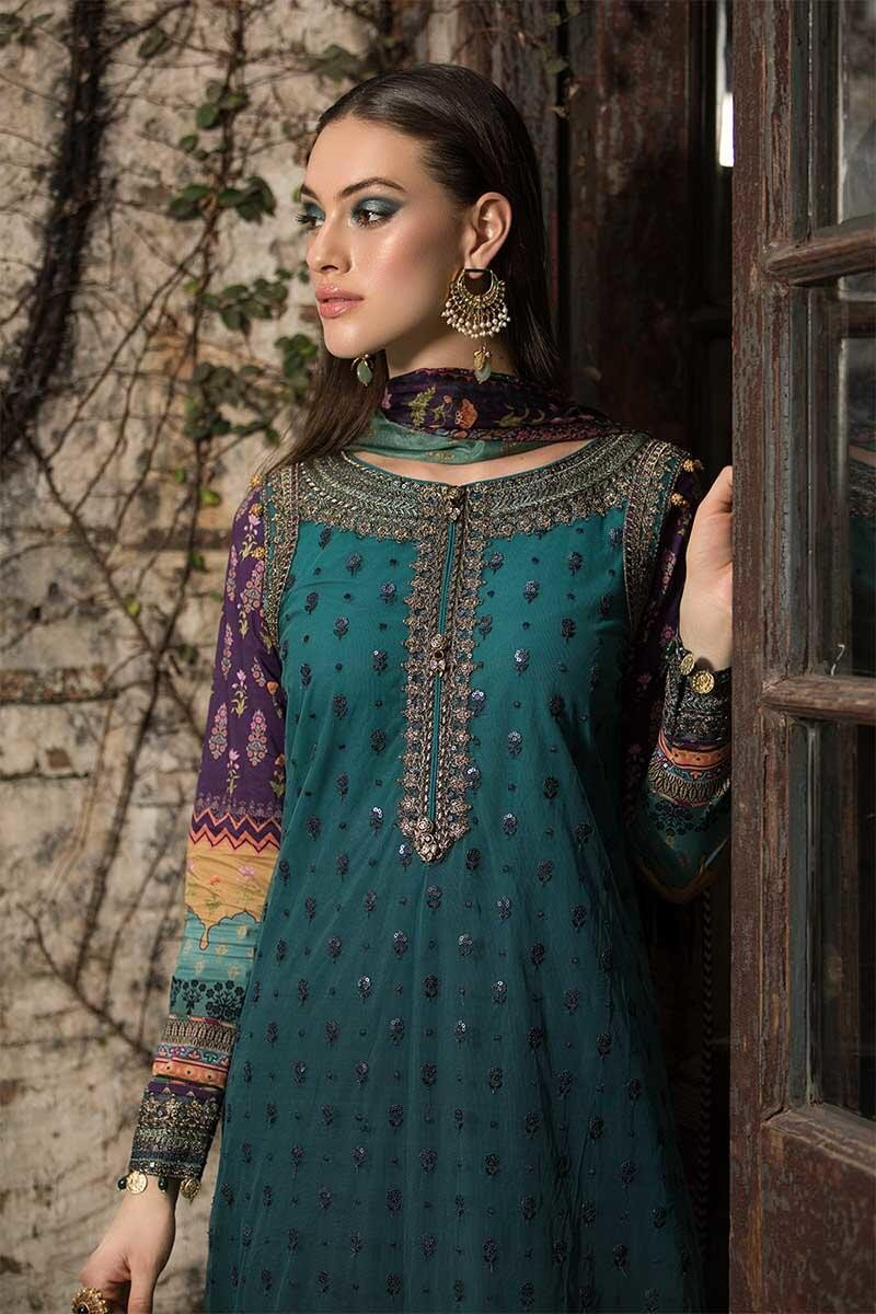 Latest Maria B Eid Lawn Dresses Designs Collection 2019 2020
