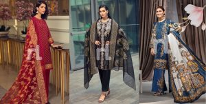 Nishat Linen Latest Eid Luxury Suits Collection 2019