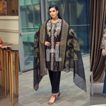 Nishat Linen Latest Eid Luxury Suits Collection 2019-2020
