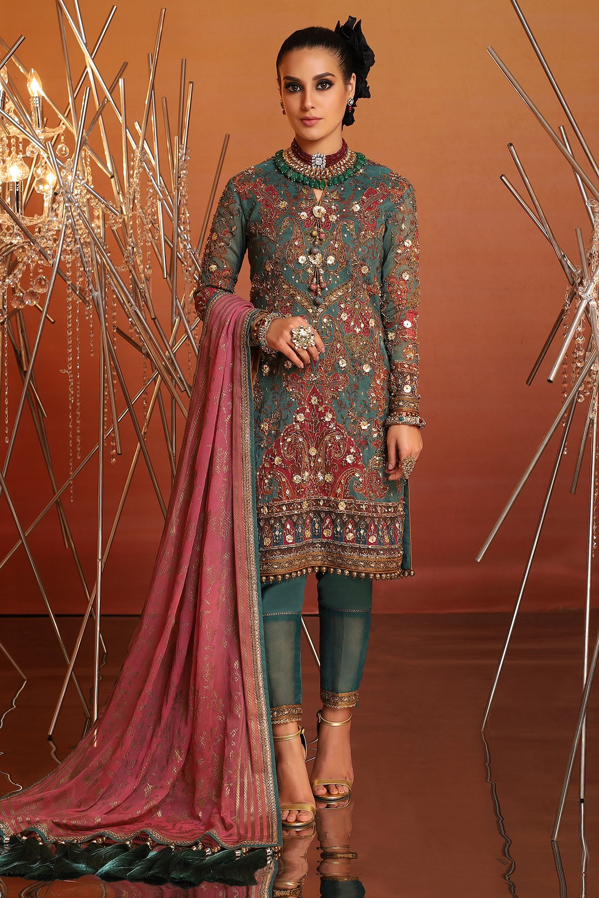 Summer Eid Festival Dresses Collection