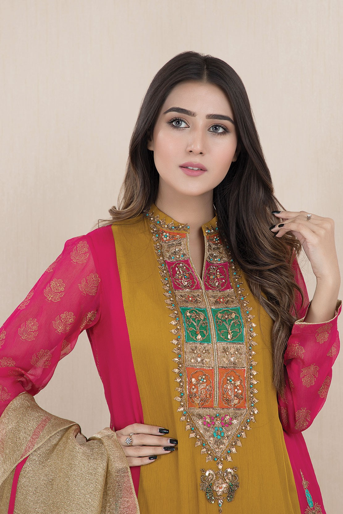 Latest Women Best Winter Dresses Designs Collection 2019 20 Pakistani