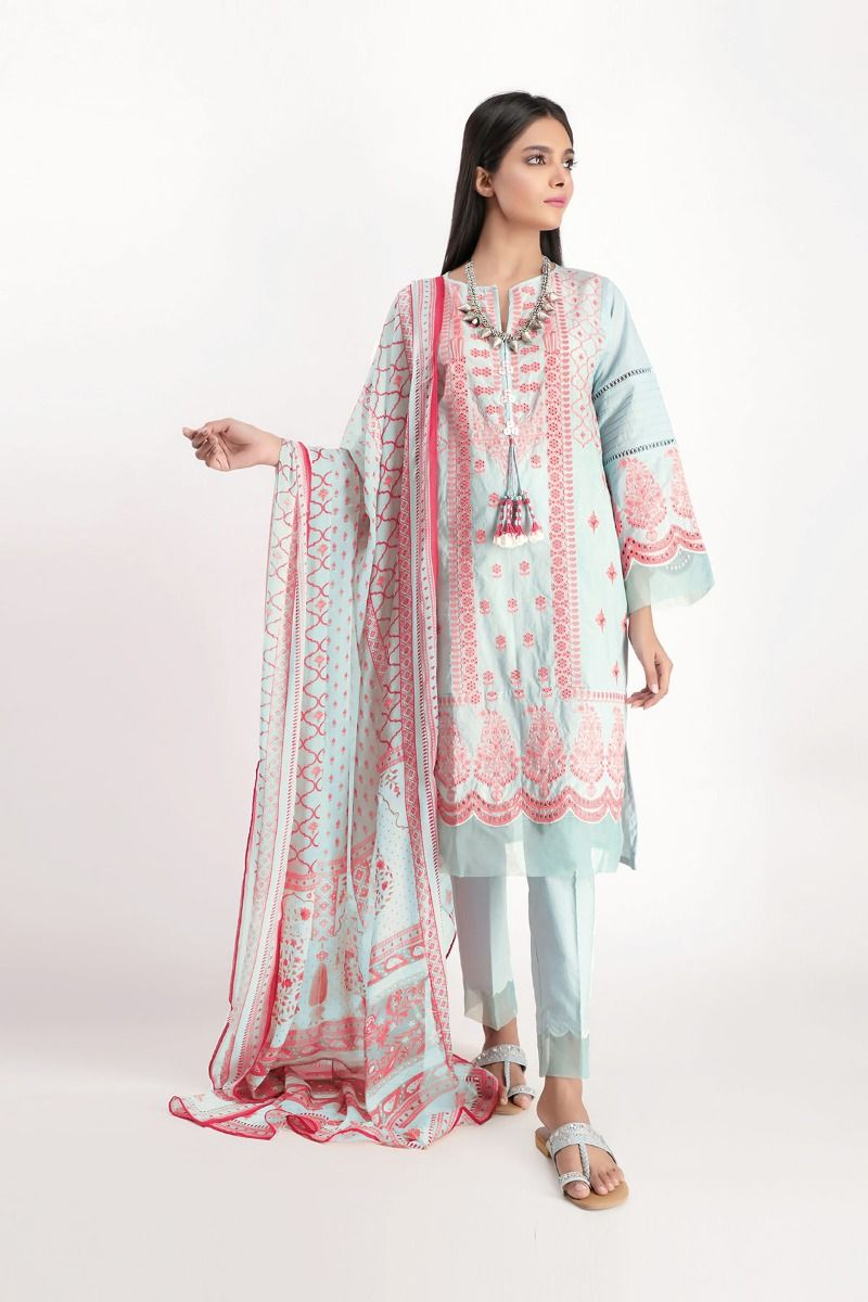 Khaadi Spring Summer Dresses Designs Lawn Cambric Collection