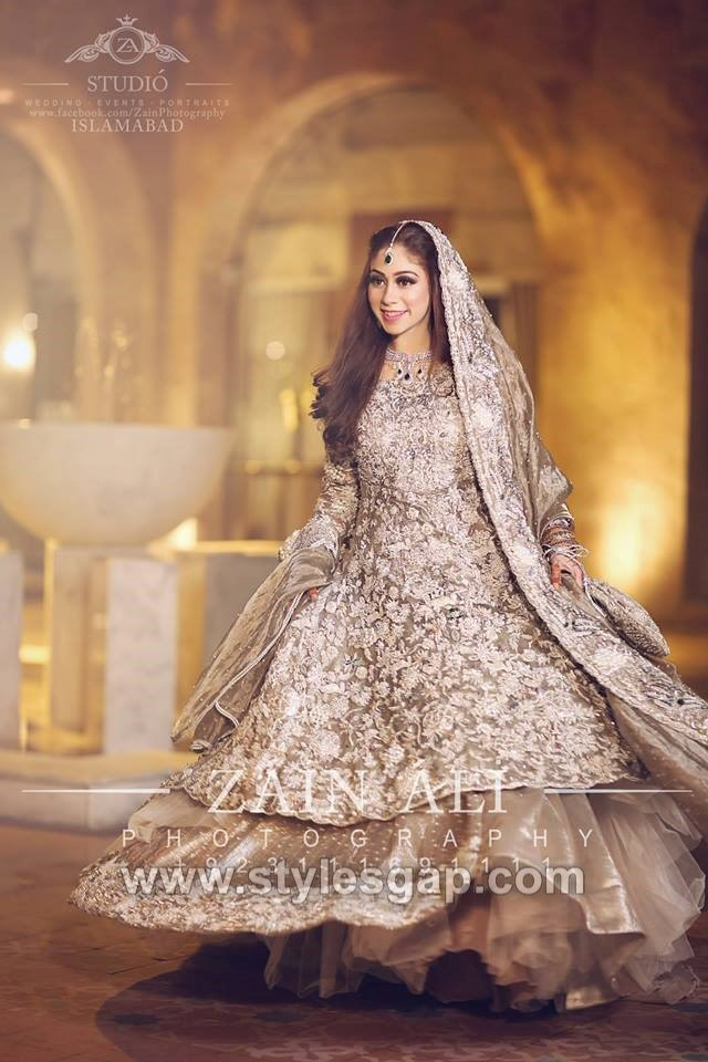 521e1e0364 Asian & Pakistani Latest Bridal Lehenga Designs Collection 2019-2020