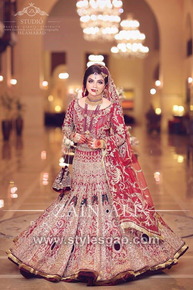 b34b8b204f Today we are sharing Pakistani Latest Bridal Lehenga Dresses Designs Styles  Collection.