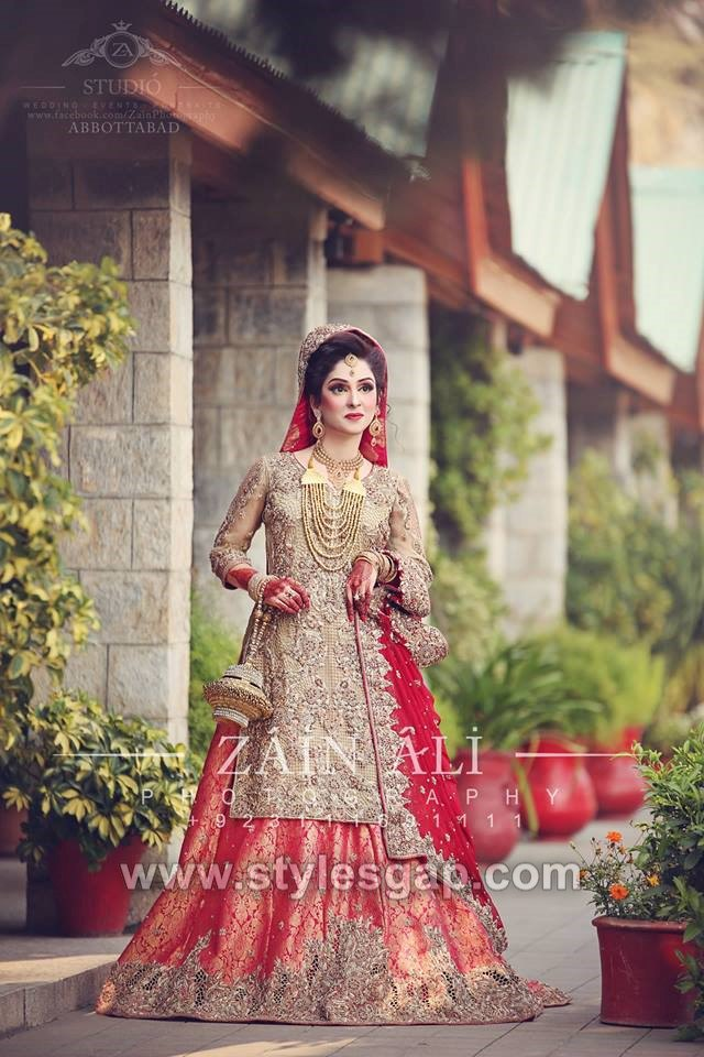 40 Best Designs Pakistani Latest Bridal Lehenga Collection