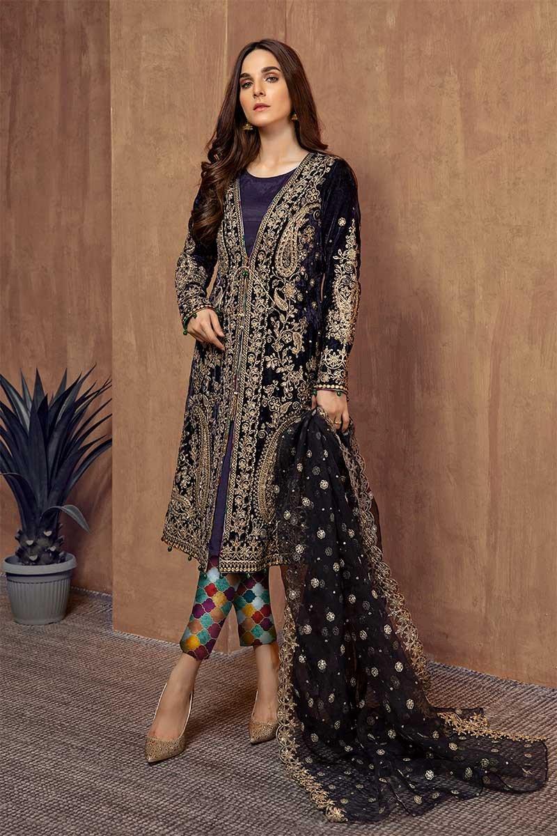 Pakistani Fashion Latest Women Best Winter Dresses Designs