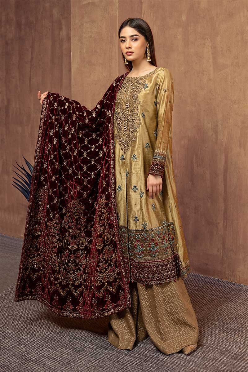 Maria B Pakistani Fashion Latest Women Best Winter Dresses