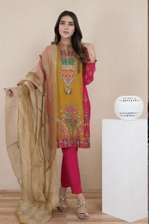 Pakistani Fashion Latest Women Best Winter Dresses 2019-2020 Designs
