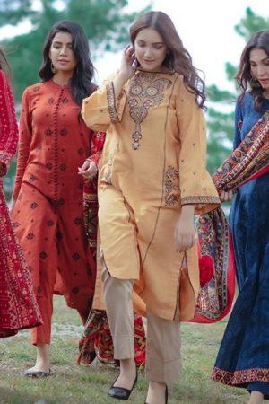 Kayseria Best Winter Dresses Collection 2019-2020 for Women & Little Girls