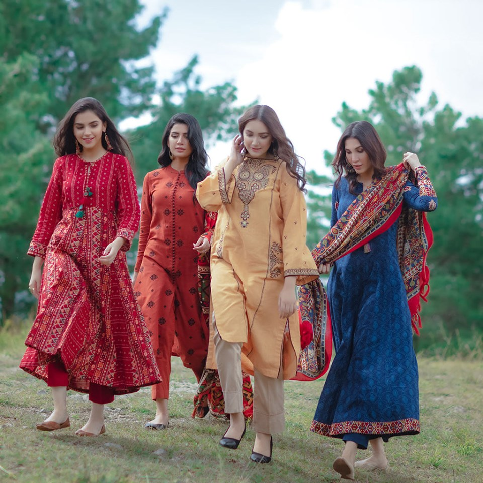 Kayesria best winter dresses ready to wear women kurtas