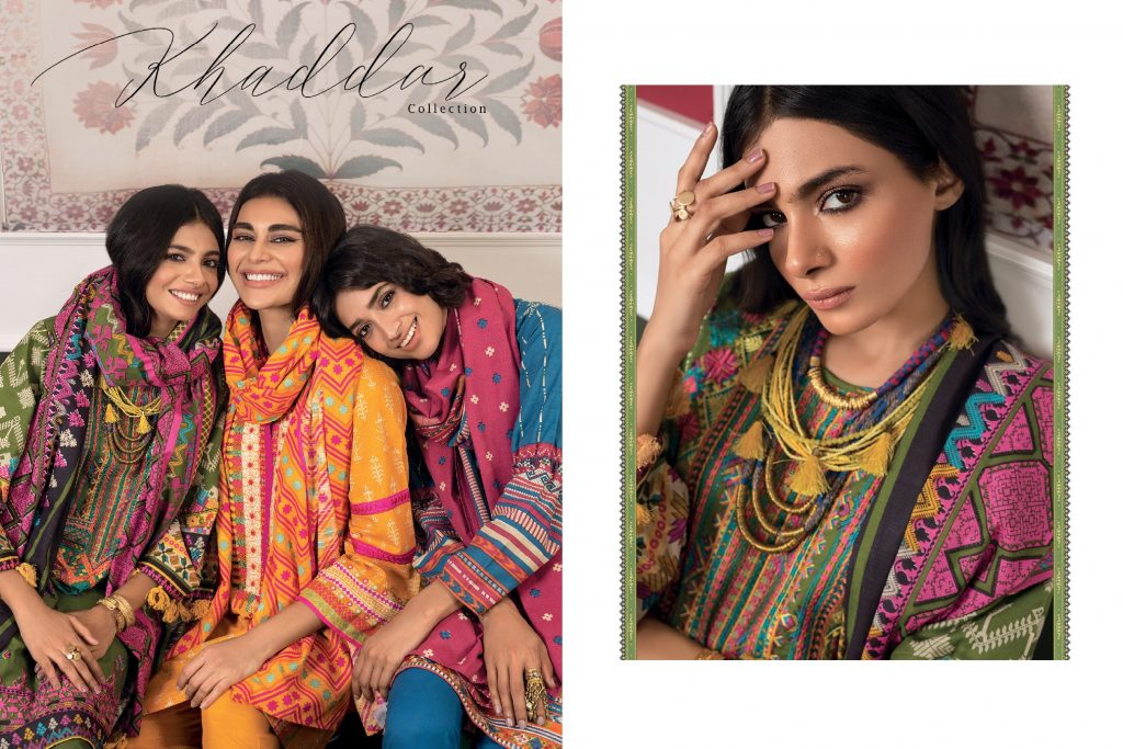 Khaadi Winter Dresses Designs