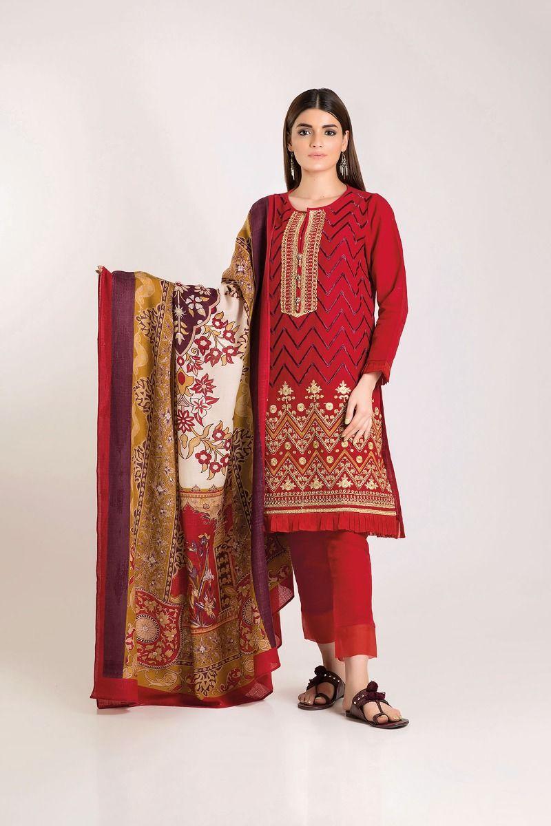 khaadi winter dresses latest collection 2019 2020 stylish. Black Bedroom Furniture Sets. Home Design Ideas