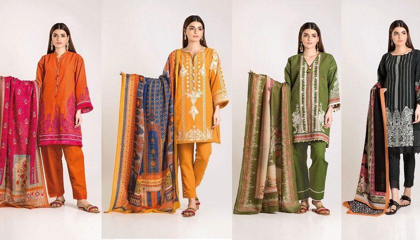 Latest Khaadi Winter Dresses Collection 2019-2020