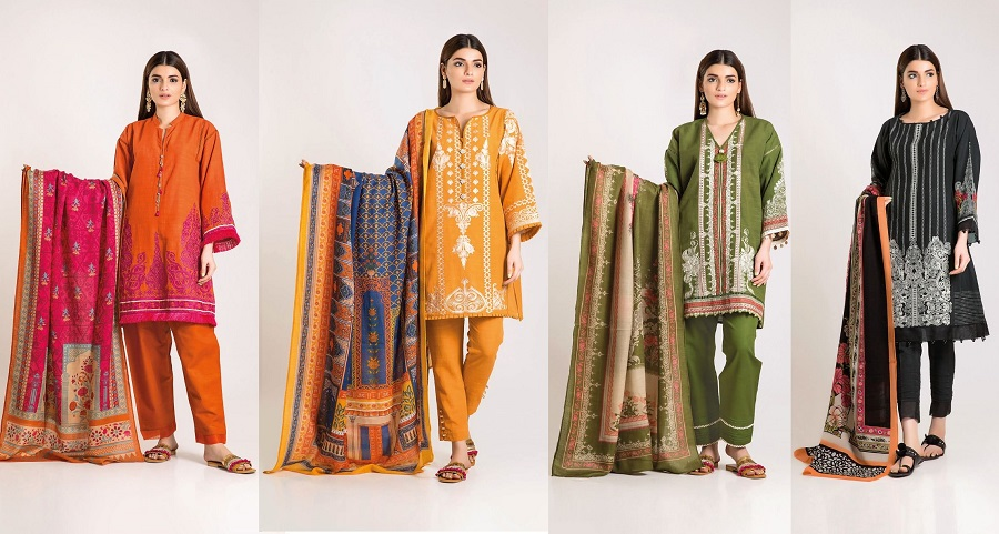 Latest Khaadi Winter Dresses Collection 2019-2020