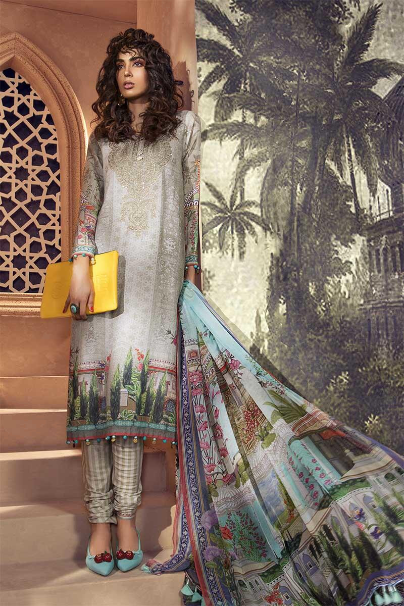 maria b winter printed suits