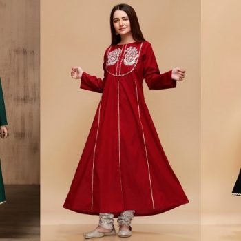 Mausummery Stitched Women Winter Dresses Designs 2020 Collection