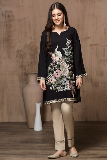 Mausummery Stitched Women Winter Dresses Designs